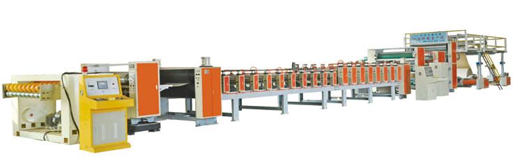 1200-2200硬纸板生产线
